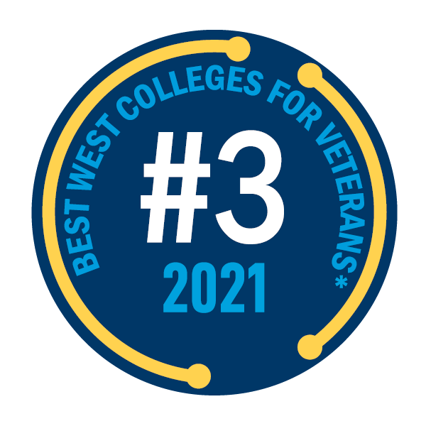 2021 Oregon Tech Best College For Veterans No. 3
