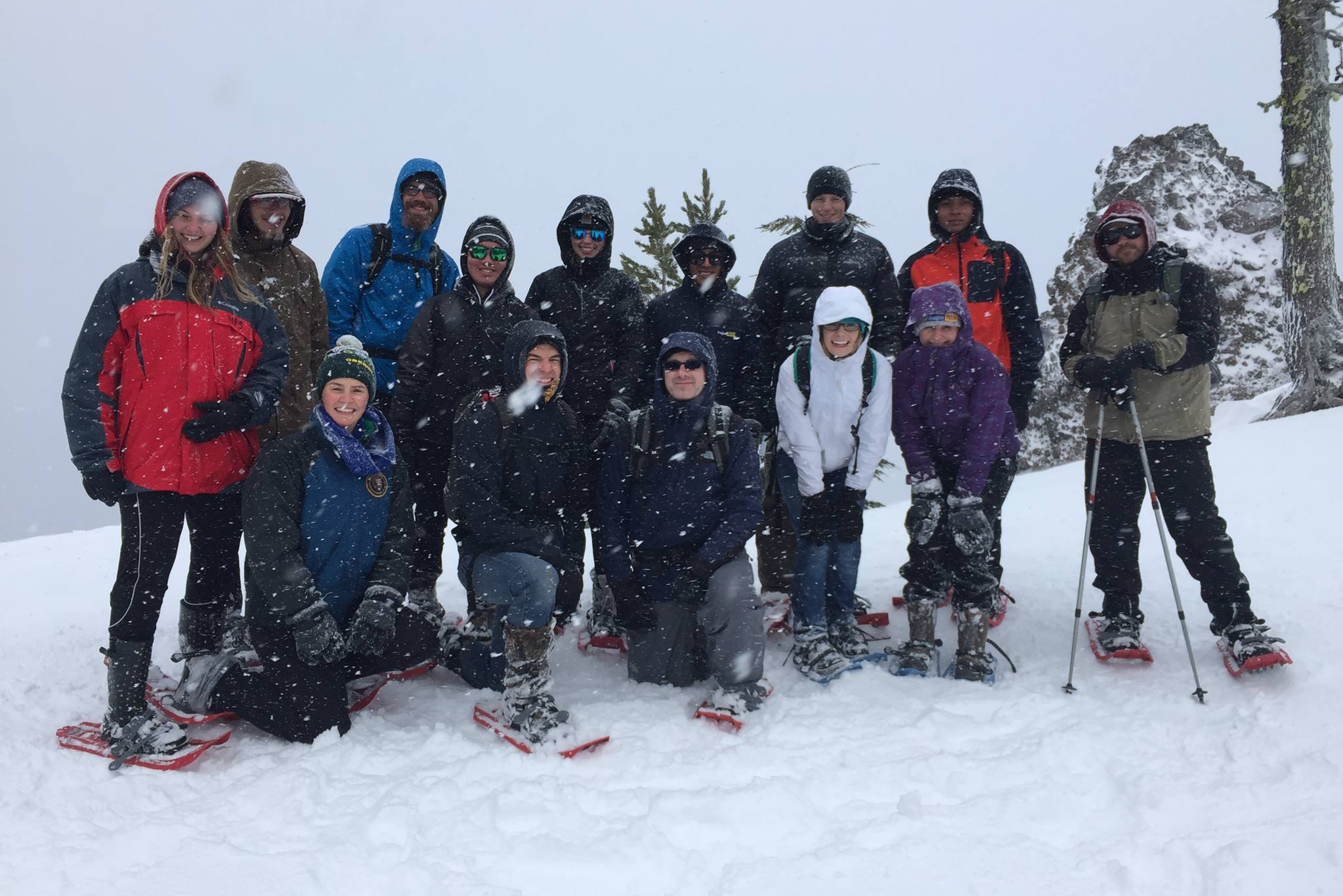 Honors Program trip to Crater Lake