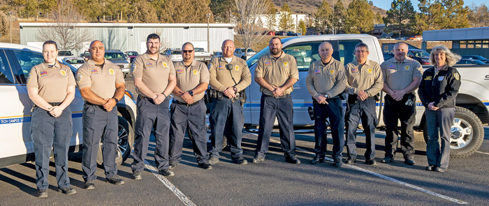 Campus Safety Officers in New Uniforms