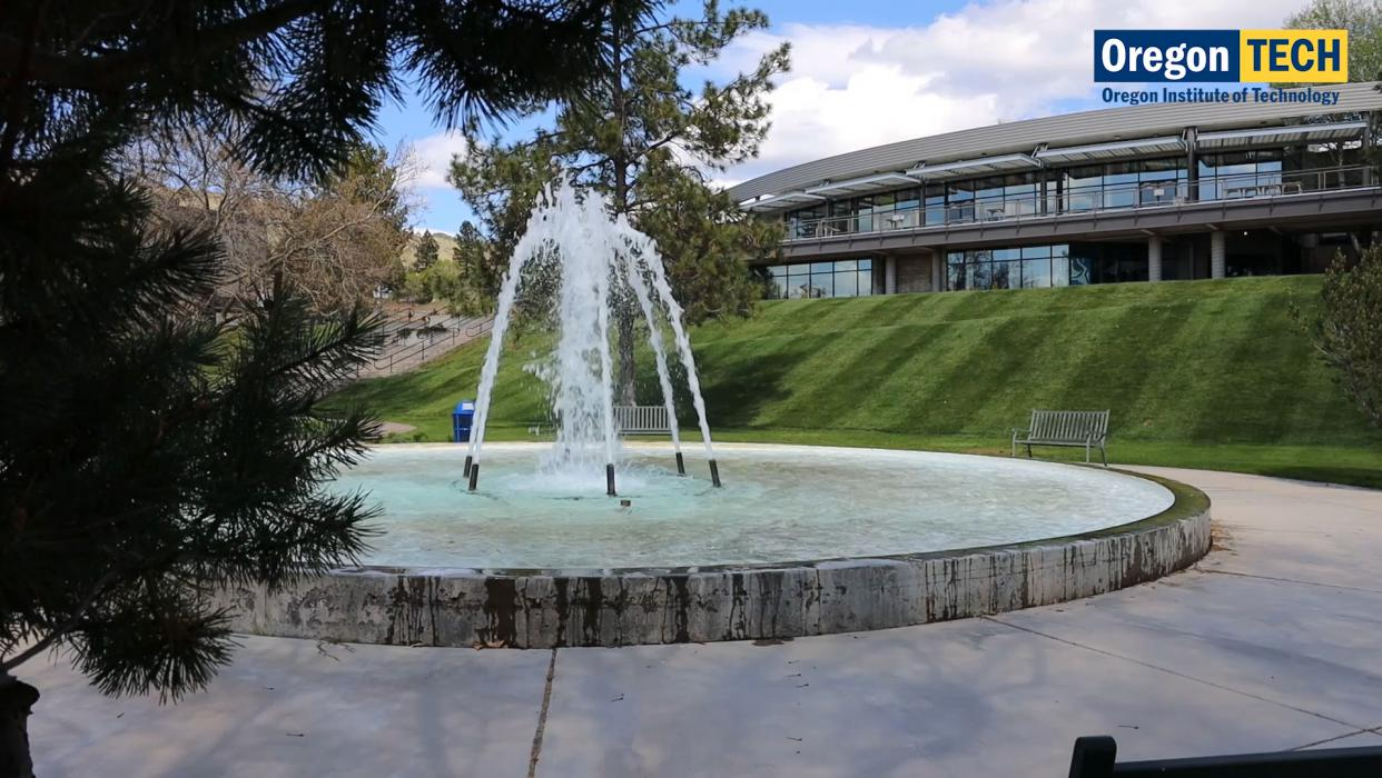 Oregon Tech Fountain